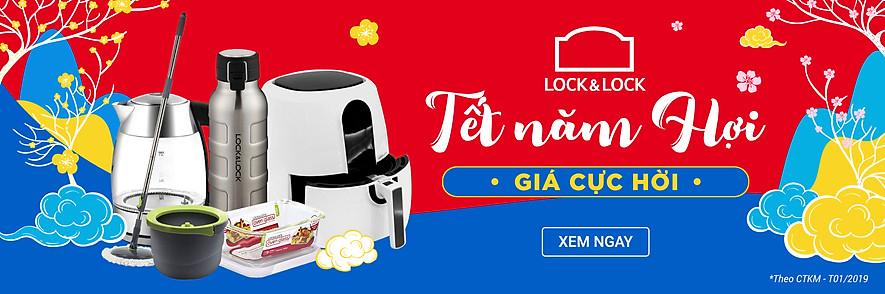 LOCK&LOCK TẾT NĂM HỢI - GIÁ CỰC HỜI
