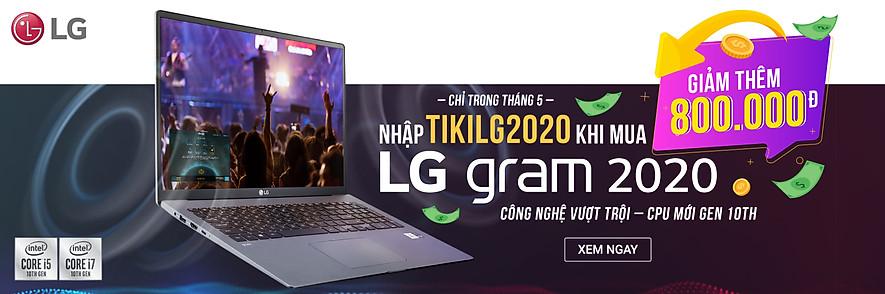 Nhập TIKILG2020 giảm thêm 800k khi mua Laptop LG Gram 2020 - Tiki Trading