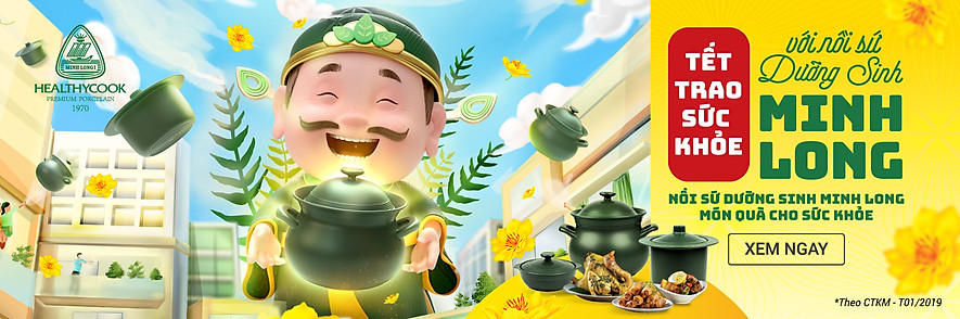 Nồi Sứ Dưỡng Sinh Minh Long Healthycook