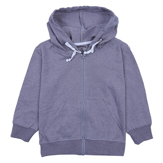 Áo Khoác Cotton Chống Nắng Cho Bé Topbaby B116011 - Màu Xám