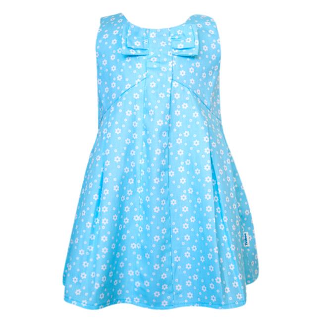 Đầm Đính Nơ Tiniboo - Xanh Da Trời