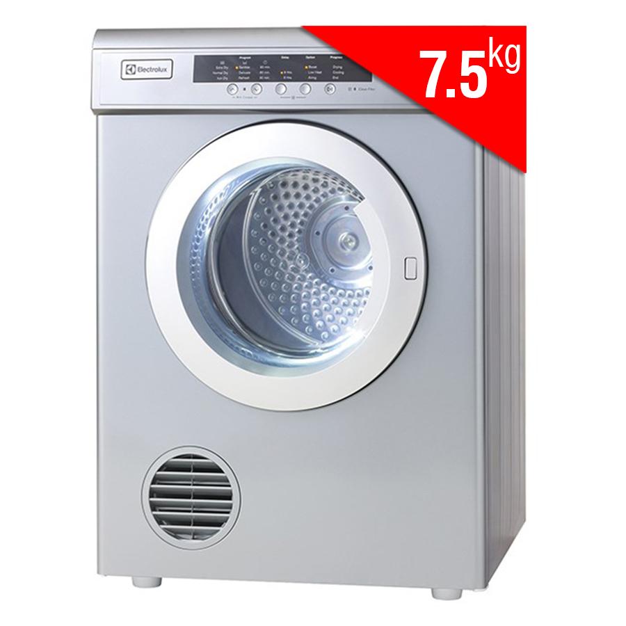 Máy Sấy Cửa Trước Electrolux EDV7552S (7.5kg) - Xám Bạc