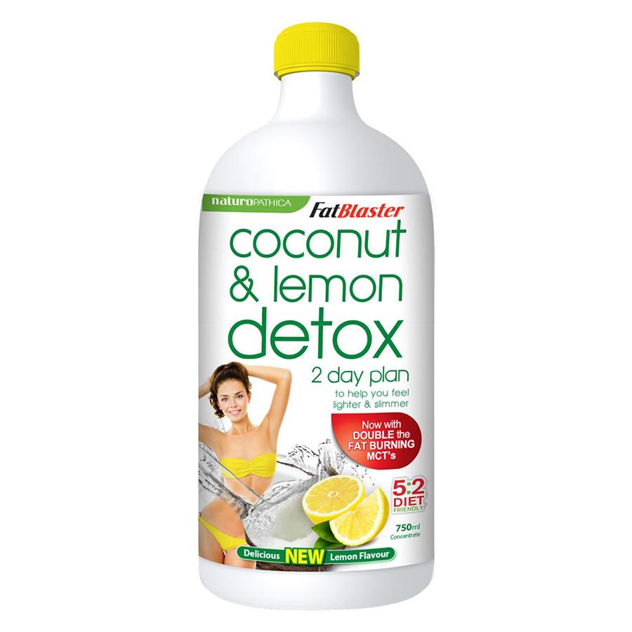 Thực Phẩm Chức Năng Nước Uống Giảm Cân, Thải Độc Coconut  Lemon Detox FatBlaster (750ml) - 874380 , 3567064907241 , 62_985402 , 700000 , Thuc-Pham-Chuc-Nang-Nuoc-Uong-Giam-Can-Thai-Doc-Coconut-Lemon-Detox-FatBlaster-750ml-62_985402 , tiki.vn , Thực Phẩm Chức Năng Nước Uống Giảm Cân, Thải Độc Coconut  Lemon Detox FatBlaster (750ml)