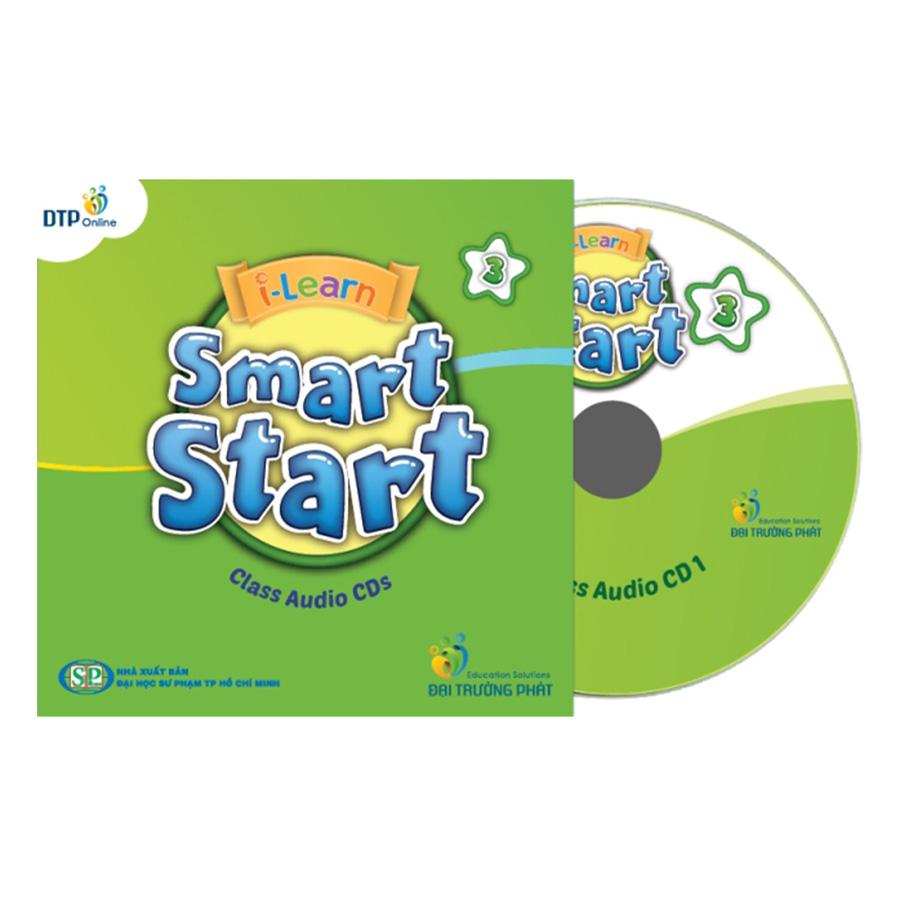 i-Learn Smart Start 3 Class Audio CDs (4) (Phiên Bản Dành Cho TP.HCM)