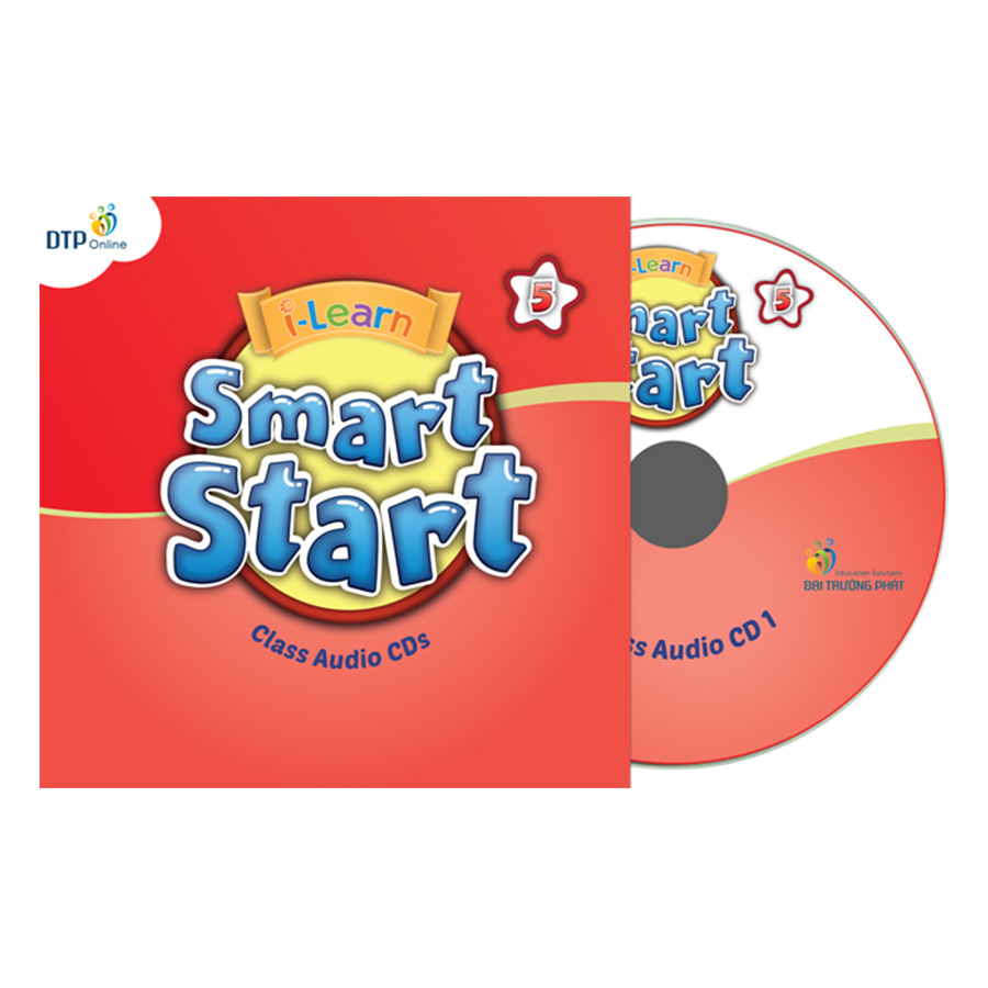 i-Learn Smart Start 5 Class Audio CDs (4) (Phiên Bản Dành Cho TP.HCM)