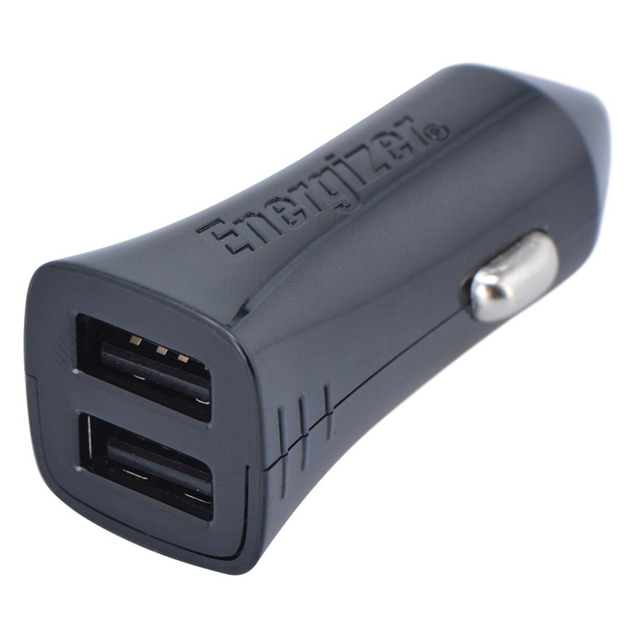 Adapter Sạc Ô Tô 2 Cổng USB Energizer UL 4.8A DCA2DUBK3 - Đen - Hàng Chính Hãng - 1984271 , 1362702721850 , 62_716261 , 350000 , Adapter-Sac-O-To-2-Cong-USB-Energizer-UL-4.8A-DCA2DUBK3-Den-Hang-Chinh-Hang-62_716261 , tiki.vn , Adapter Sạc Ô Tô 2 Cổng USB Energizer UL 4.8A DCA2DUBK3 - Đen - Hàng Chính Hãng