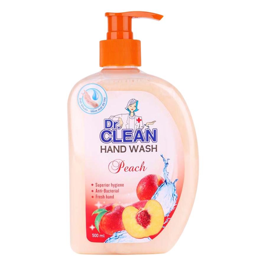 Sữa Rửa Tay Dr. Clean - Đào (500ml) - 7847657 , 3896774174095 , 62_628346 , 47500 , Sua-Rua-Tay-Dr.-Clean-Dao-500ml-62_628346 , tiki.vn , Sữa Rửa Tay Dr. Clean - Đào (500ml)
