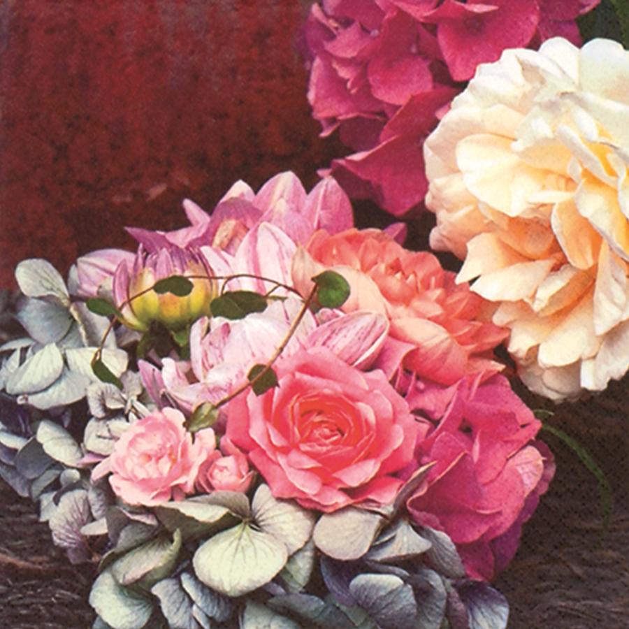 Khăn Giấy Ăn Trang Trí Bàn Tiệc Tissue Napkins Design Ti-Flair 344028 (33 x 33 cm)