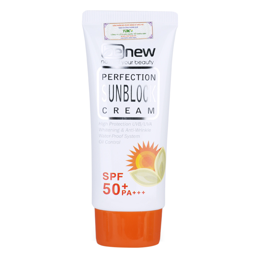 Kem Chống Nắng Benew Perfection Sunblock Cream (50ml)