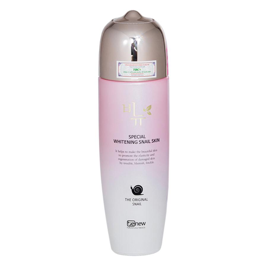 Nước Hoa Hồng Trắng Da Ốc Sên Benew Special Whitening Snail Skin (150ml)