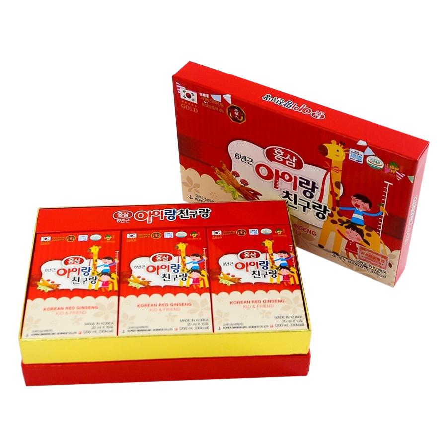 Thực Phẩm Chức Năng Nước Hồng Sâm Trẻ Em Korean Ginseng Kid  Friend Bio (30 Gói) - 9416389 , 1639268231957 , 62_12413672 , 1100000 , Thuc-Pham-Chuc-Nang-Nuoc-Hong-Sam-Tre-Em-Korean-Ginseng-Kid-Friend-Bio-30-Goi-62_12413672 , tiki.vn , Thực Phẩm Chức Năng Nước Hồng Sâm Trẻ Em Korean Ginseng Kid  Friend Bio (30 Gói)