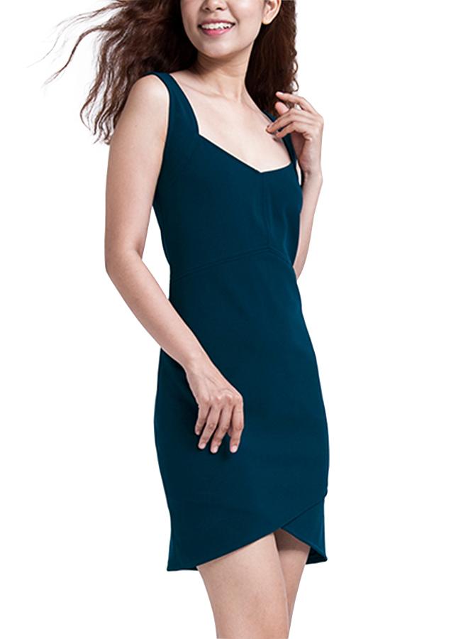 Đầm Ôm Body Hity DRE044-XANH INDIGO - Xanh Indigo