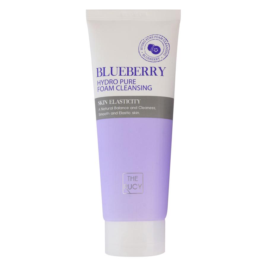 Sữa Rửa Mặt Việt Quất The Rucy Hydro Pure Foam Cleansing Blue Berry LK-FCBB (150ml)