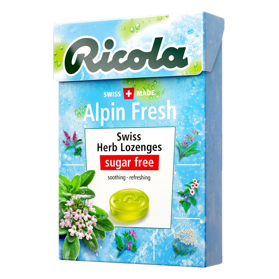 Kẹo Thảo Mộc Alpin Fresh Ricola F122671 (40g) - 9435897 , 7610700004128 , 62_968800 , 40000 , Keo-Thao-Moc-Alpin-Fresh-Ricola-F122671-40g-62_968800 , tiki.vn , Kẹo Thảo Mộc Alpin Fresh Ricola F122671 (40g)