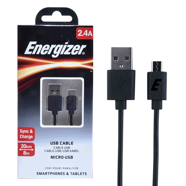Cáp Sạc Micro USB Energizer (20cm) - Đen - Hàng Chính Hãng - 1979730 , 1359370122065 , 62_716181 , 75000 , Cap-Sac-Micro-USB-Energizer-20cm-Den-Hang-Chinh-Hang-62_716181 , tiki.vn , Cáp Sạc Micro USB Energizer (20cm) - Đen - Hàng Chính Hãng