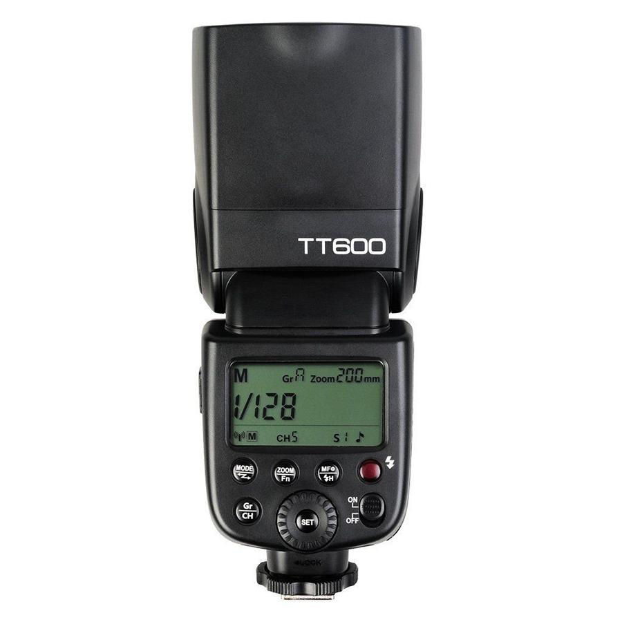 Đèn Flash Godox TT600 Cho Canon, Nikon, Sony, Pentax (Tặng Kèm Tản Sáng Bounce)