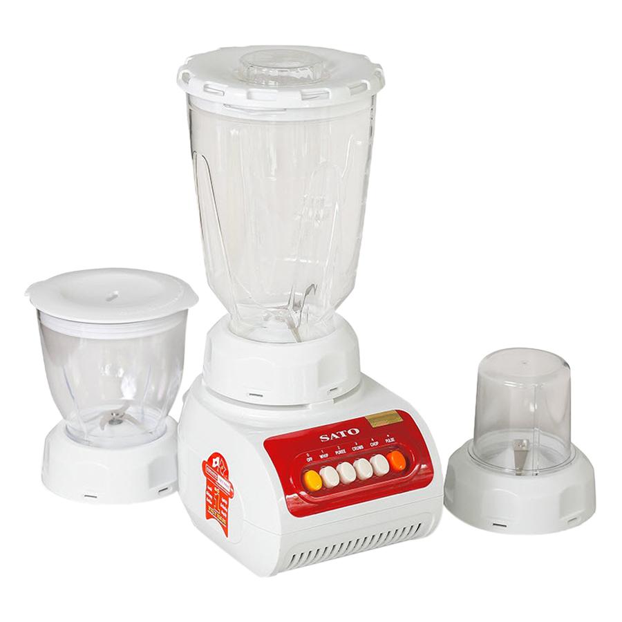 Máy xay sinh tố đa năng SATO MX5055(D) 1.5L (Màu đỏ trắng) - 4488154 , 1809442306720 , 62_885664 , 750000 , May-xay-sinh-to-da-nang-SATO-MX5055D-1.5L-Mau-do-trang-62_885664 , tiki.vn , Máy xay sinh tố đa năng SATO MX5055(D) 1.5L (Màu đỏ trắng)