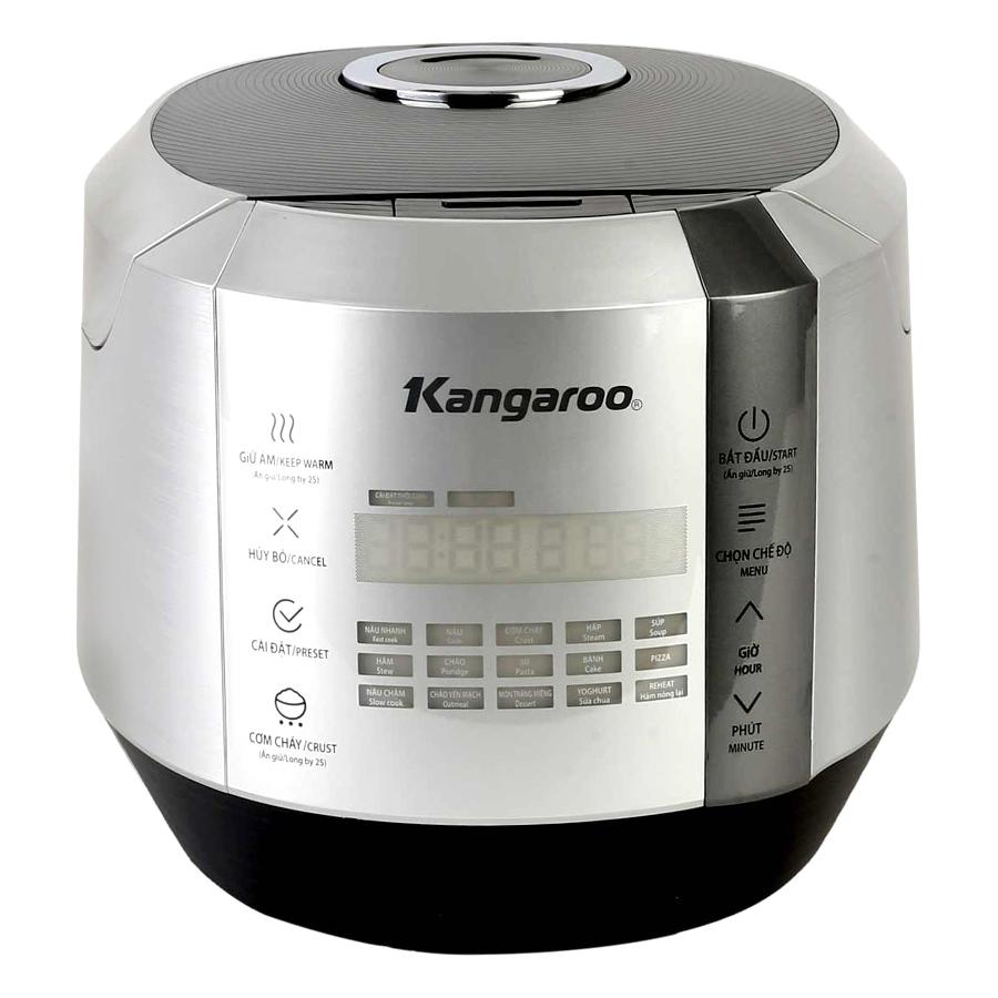 Nồi Cơm Điện Tử Kangaroo KG598 (1.5L) - Bạc