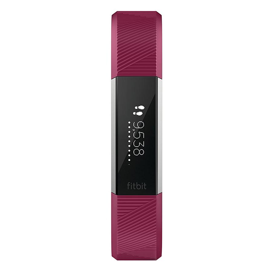 Đồng Hồ Thông Minh Fitbit Alta HR (Size Small) - Đỏ Tía - Hàng Nhập Khẩu
