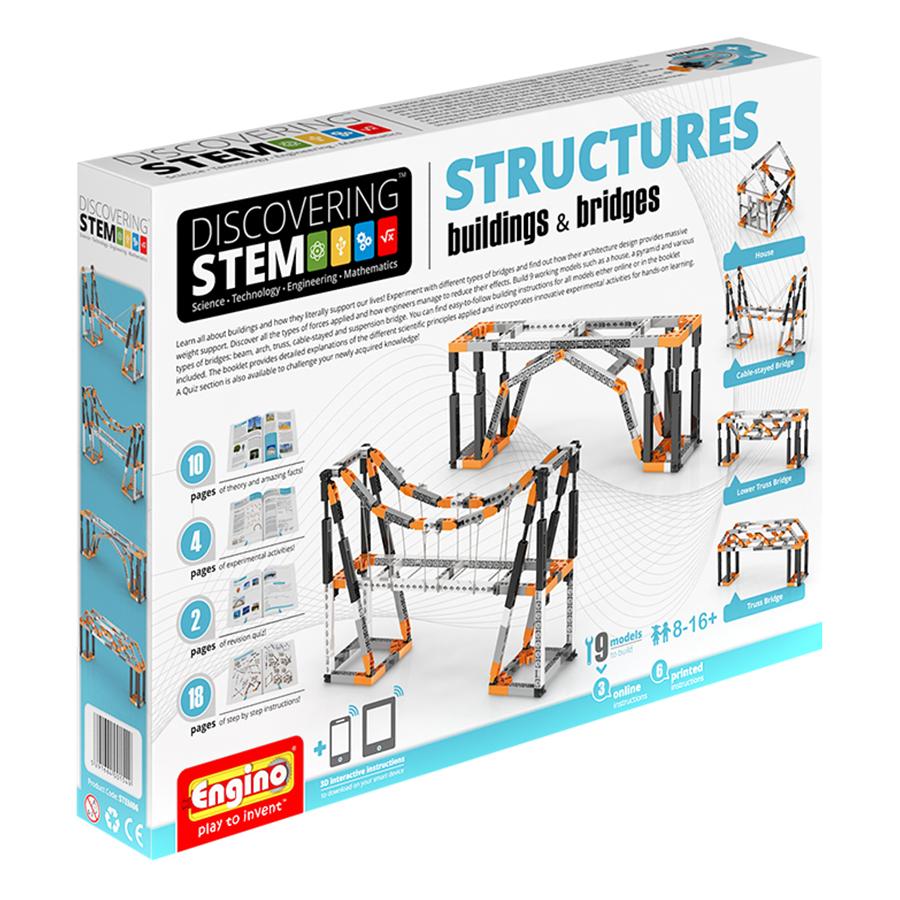Mô Hình Công Trình Và Cầu Đường Engino STEM06
