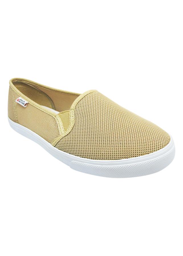 Giày Slip On Nữ DA L1707 - Be