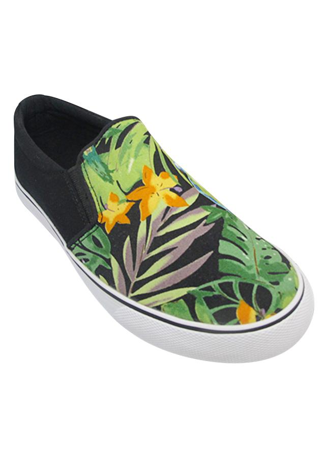 Giày Slip On Nữ Urban UL1709 - Hoa Cam