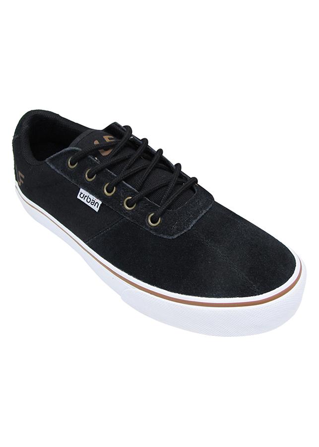 Giày Sneaker Nam Buộc Dây Urban UM1603B - Đen