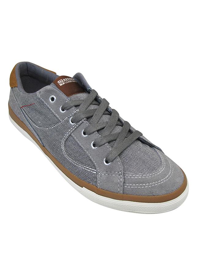 Giày Sneaker Nam Buộc Dây Urban UM1608G - Ghi