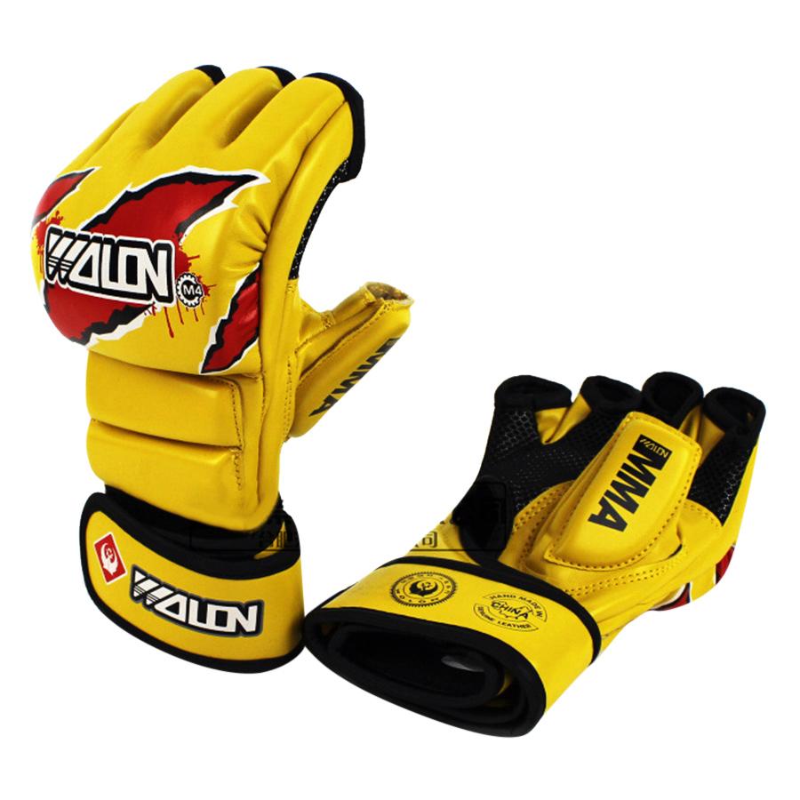 Găng Tay MMA Wolon Fighter MG-WL-RW – Vàng