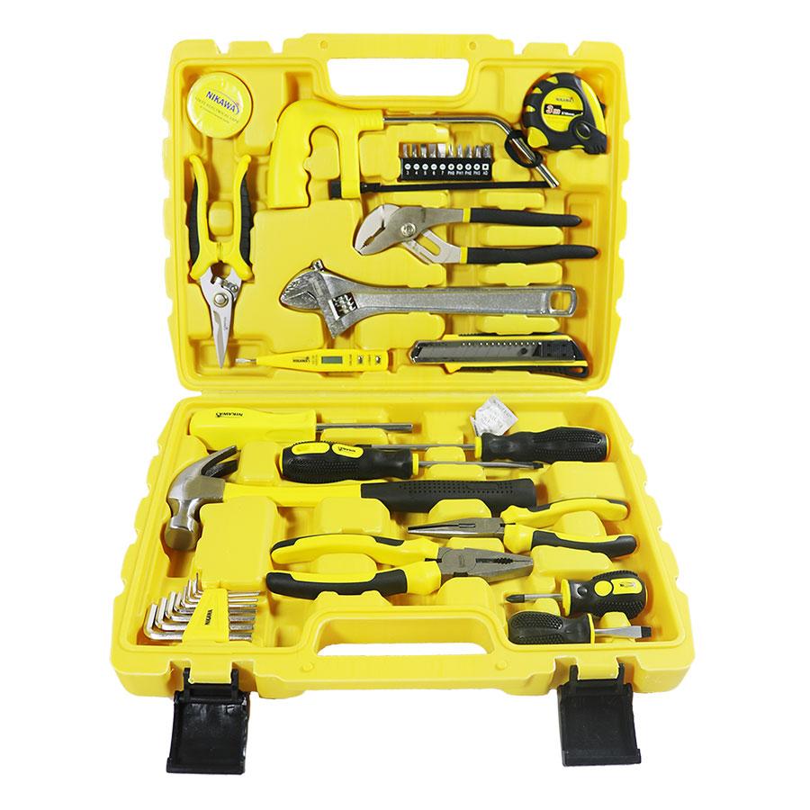 Bộ Dụng Cụ 35 Món NK-BS035 Nikawa Tools – Vàng - 18243394 , 2869409386416 , 62_10724392 , 900000 , Bo-Dung-Cu-35-Mon-NK-BS035-Nikawa-Tools-Vang-62_10724392 , tiki.vn , Bộ Dụng Cụ 35 Món NK-BS035 Nikawa Tools – Vàng