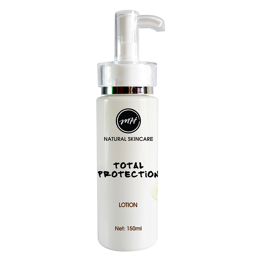 Kem Dưỡng Thể Trắng Da Total Protection Cream Whitening Lotion MH Natural Skincare 02806 (150ml)