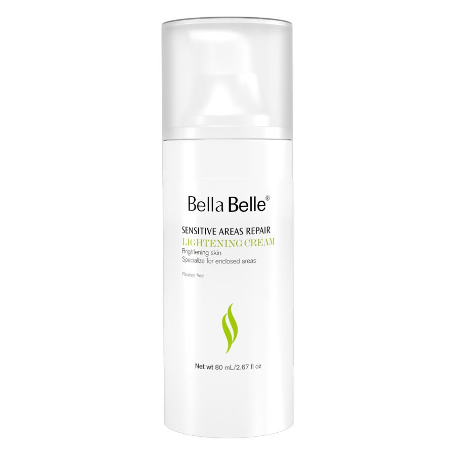 Combo 2 Kem Làm Trắng Vùng Nách Bẹn Bella Belle Areas Repair Lightening Cream (80ml / Chai)