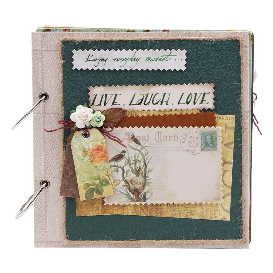 Scrapbook Live Laugh Love Fairy Corner SB20SQ01