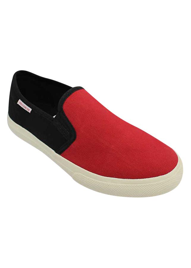 Giày Slip On Nữ DA L1607 - Đỏ
