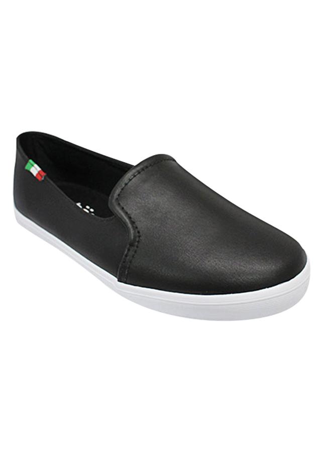 Giày Slip On Nữ Urban UL1703 - Đen