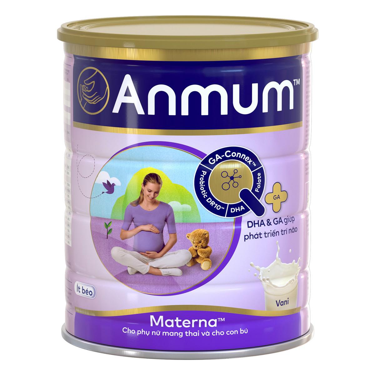 CRM - Sữa Bột Dành Cho Mẹ Bầu Anmum Materna Hương Vanilla (400g)