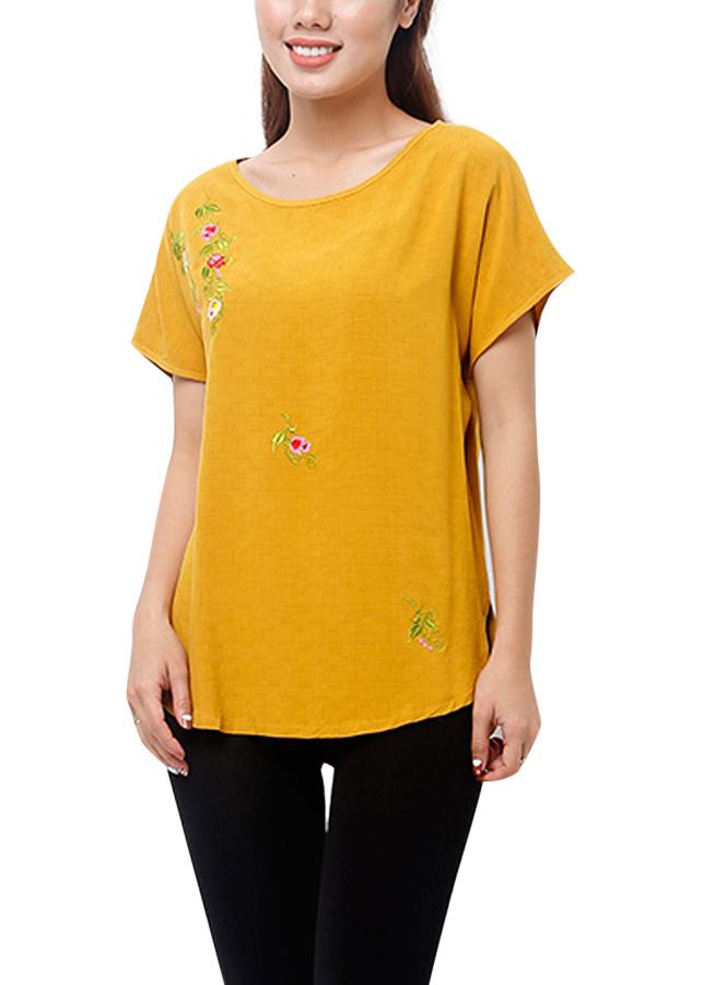 Áo Kiểu Nữ An Thủy TN503 - Vàng