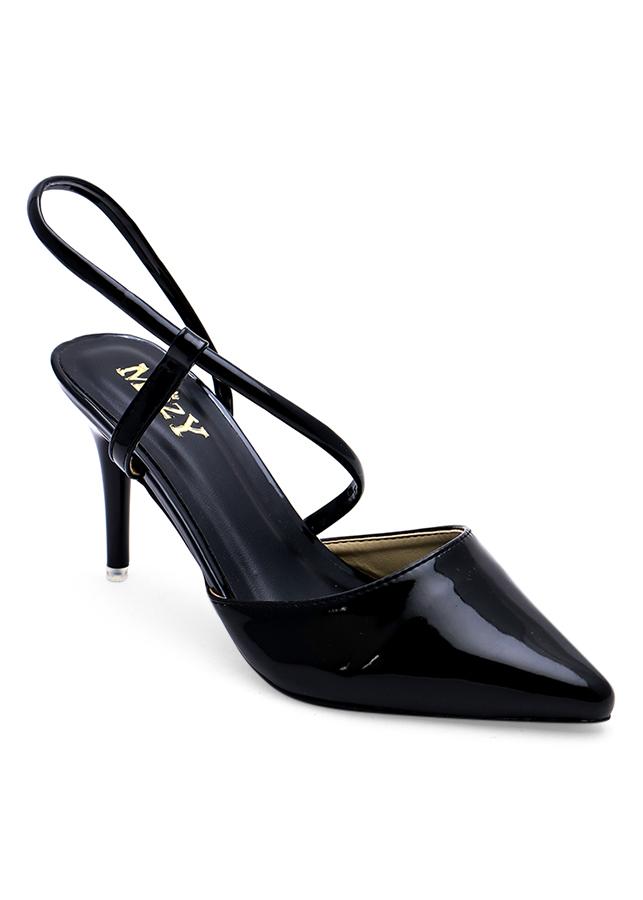 Giày Sandal Cao Gót Mozy Mzsd031 - Đen