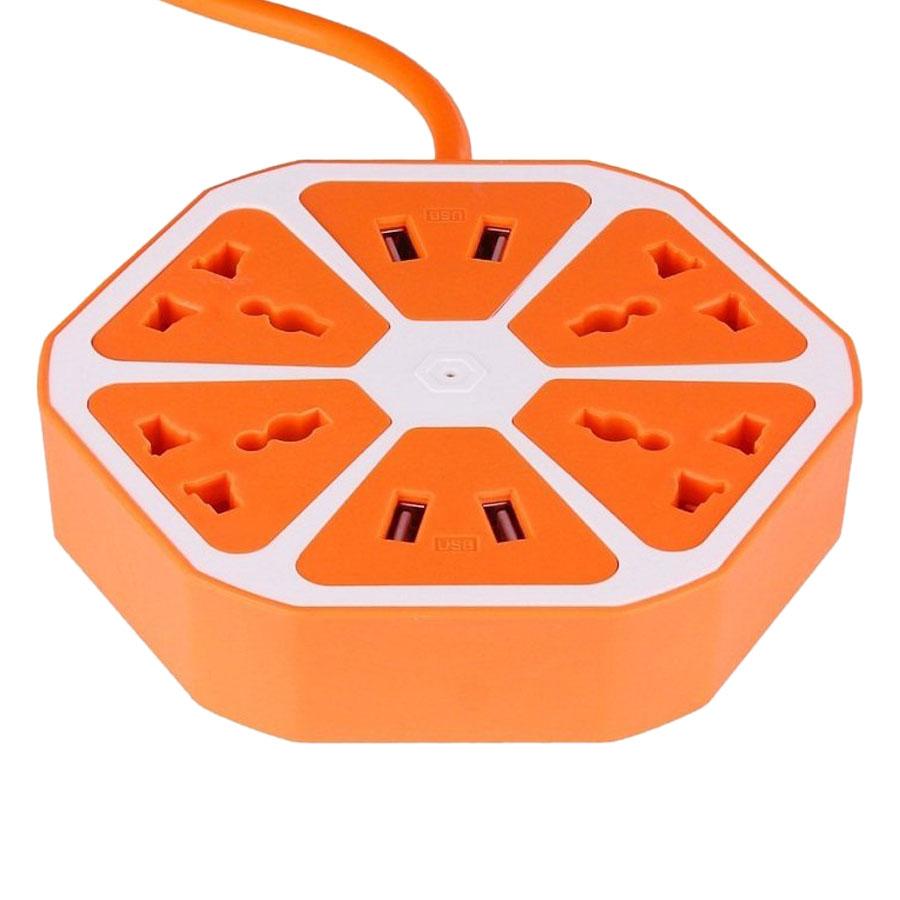 Ổ Cắm Điện Hình Trái Cam Có Cổng USB