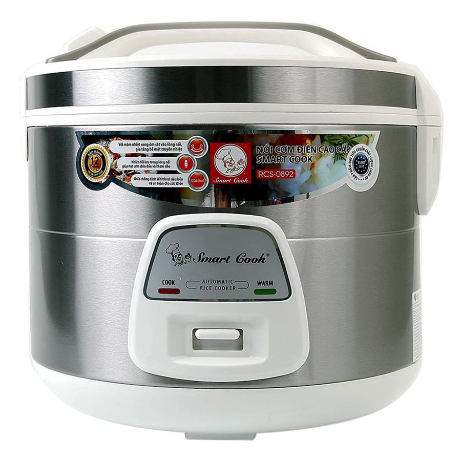 Nồi Cơm Điện Smartcook Elmich RCS-0892 (1.8L) - 7861135 , 2772734137687 , 62_11228861 , 990000 , Noi-Com-Dien-Smartcook-Elmich-RCS-0892-1.8L-62_11228861 , tiki.vn , Nồi Cơm Điện Smartcook Elmich RCS-0892 (1.8L)