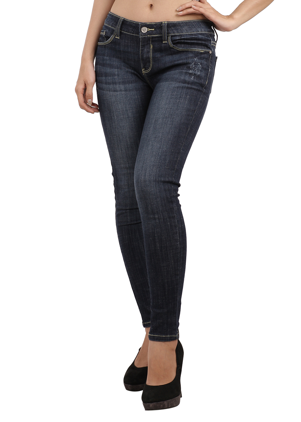 Quần Jeans Skinny Nữ ALE JEANS 60305SK