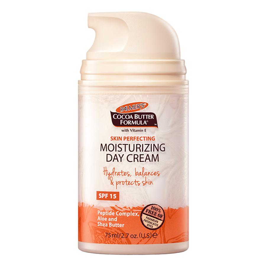 Kem Dưỡng Da Ban Ngày Palmer's Cocoa Butter Formula Skin Perfecting Moisturizing Day Cream PL4544 (75ml) - 1983421 , 10181045446 , 62_645454 , 345000 , Kem-Duong-Da-Ban-Ngay-Palmers-Cocoa-Butter-Formula-Skin-Perfecting-Moisturizing-Day-Cream-PL4544-75ml-62_645454 , tiki.vn , Kem Dưỡng Da Ban Ngày Palmer's Cocoa Butter Formula Skin Perfecting Moisturizing