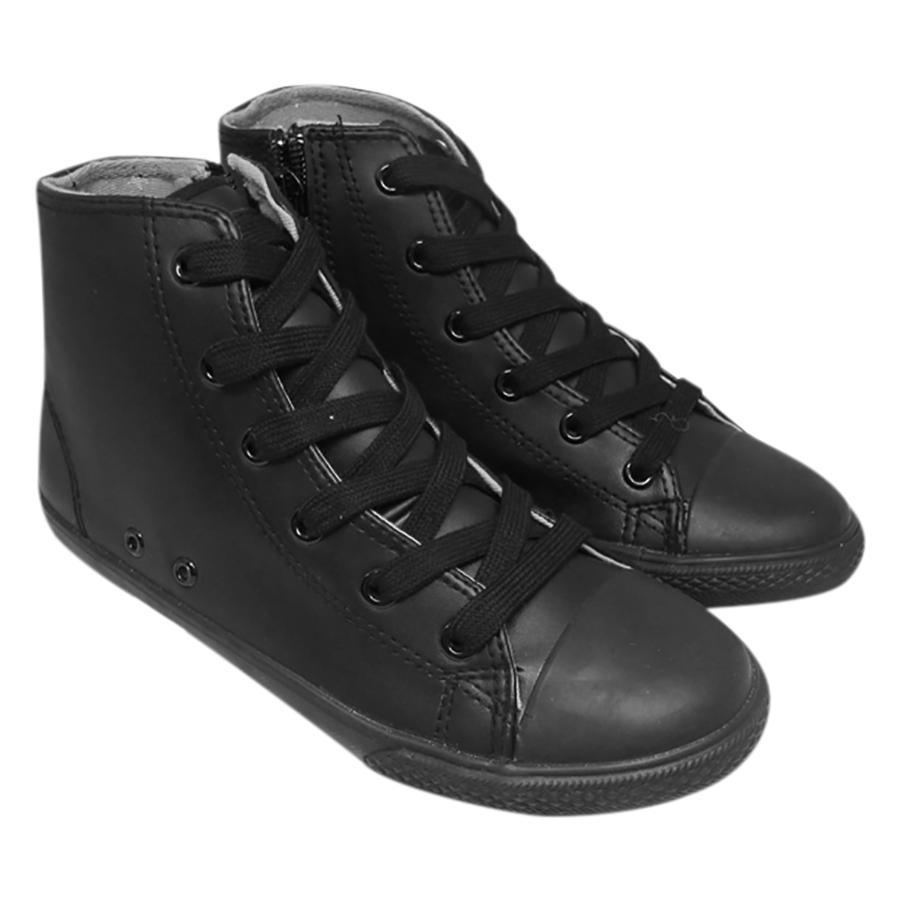 Giày Cổ Lửng Buộc Dây Bé Gái Urban UG1610B - Đen