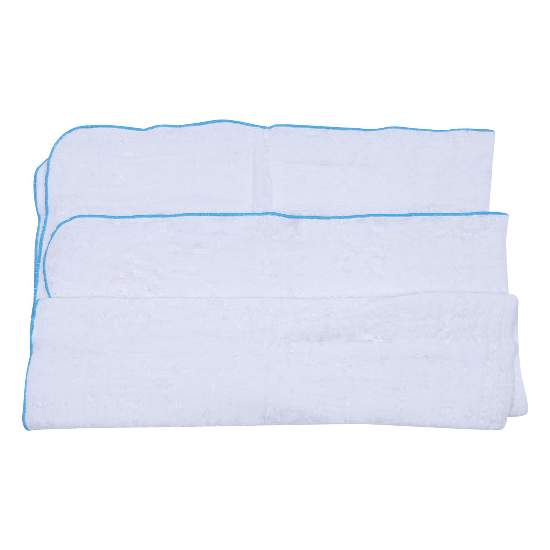 Combo 2 Cái Khăn Tắm Vải Gạc 5 Lớp Cao Cấp Mihababy K02 - 70x90cm