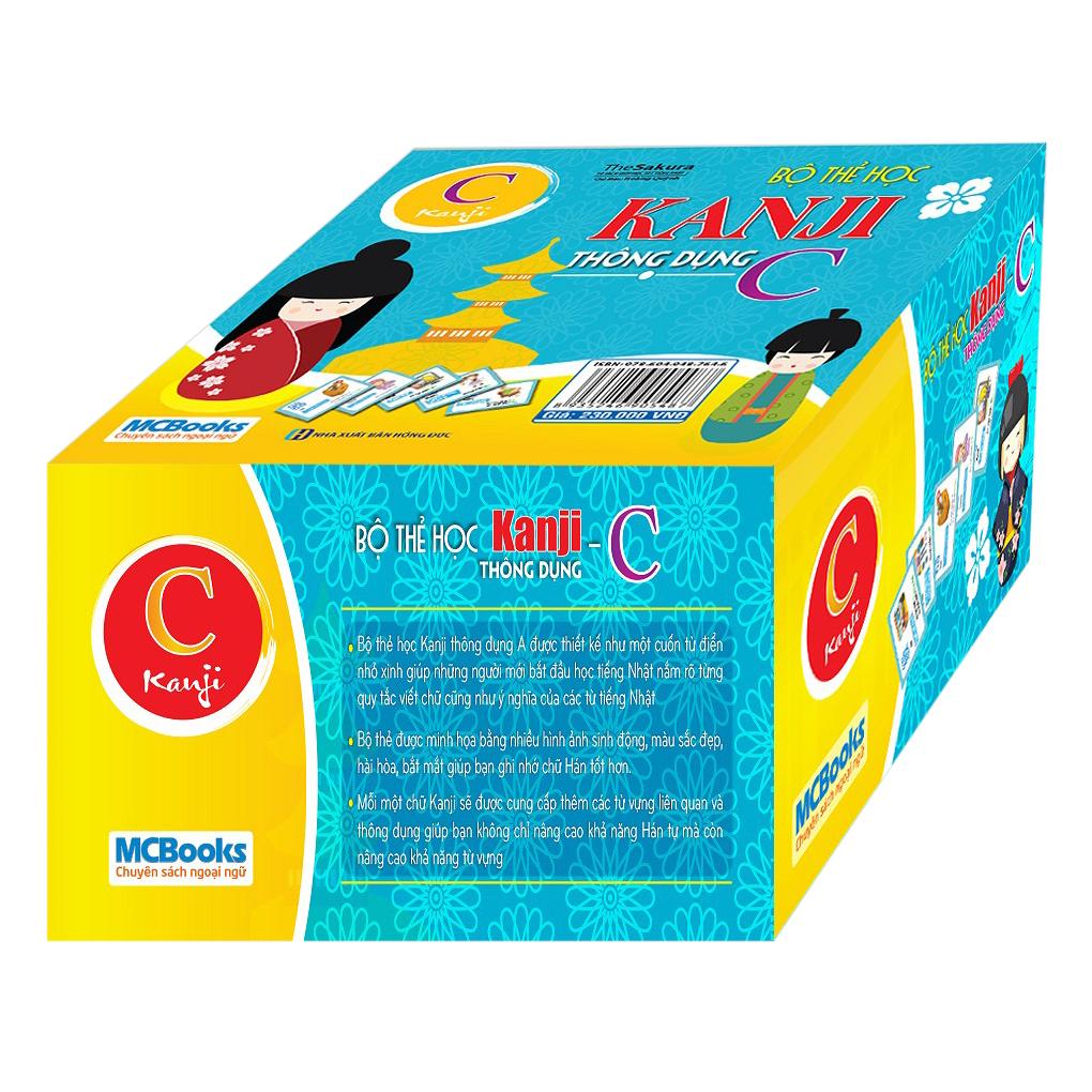 Bộ Thẻ Học Kanji Thông Dụng C - 1979248 , 8935246905487 , 62_298302 , 230000 , Bo-The-Hoc-Kanji-Thong-Dung-C-62_298302 , tiki.vn , Bộ Thẻ Học Kanji Thông Dụng C