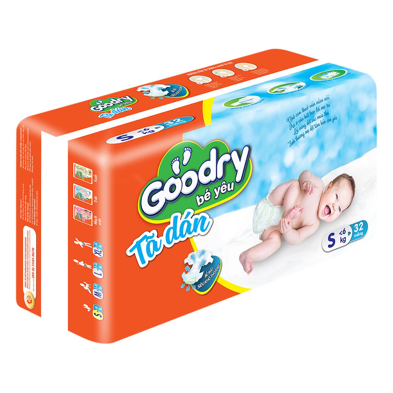 Tã Dán Goodry Size S32 (32 Miếng)