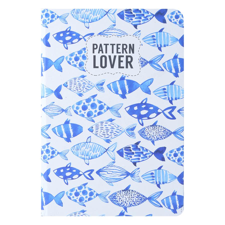 Sổ Tay Kẻ Ngang Crabit Notebuck Pattern Lover 1501b (19 x 13 cm) - 9413305 , 2230905921676 , 62_714376 , 50000 , So-Tay-Ke-Ngang-Crabit-Notebuck-Pattern-Lover-1501b-19-x-13-cm-62_714376 , tiki.vn , Sổ Tay Kẻ Ngang Crabit Notebuck Pattern Lover 1501b (19 x 13 cm)