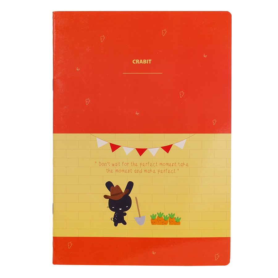 Vở Kẻ Ngang Crabit Notebuck Dreamer 1303b - Cam Vàng (26 x 18.3 cm) - 9413368 , 2244413492009 , 62_750032 , 25000 , Vo-Ke-Ngang-Crabit-Notebuck-Dreamer-1303b-Cam-Vang-26-x-18.3-cm-62_750032 , tiki.vn , Vở Kẻ Ngang Crabit Notebuck Dreamer 1303b - Cam Vàng (26 x 18.3 cm)