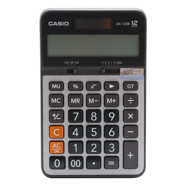 Máy Tính Casio AX-120B - 5229085 , 2266844461942 , 62_301121 , 308000 , May-Tinh-Casio-AX-120B-62_301121 , tiki.vn , Máy Tính Casio AX-120B