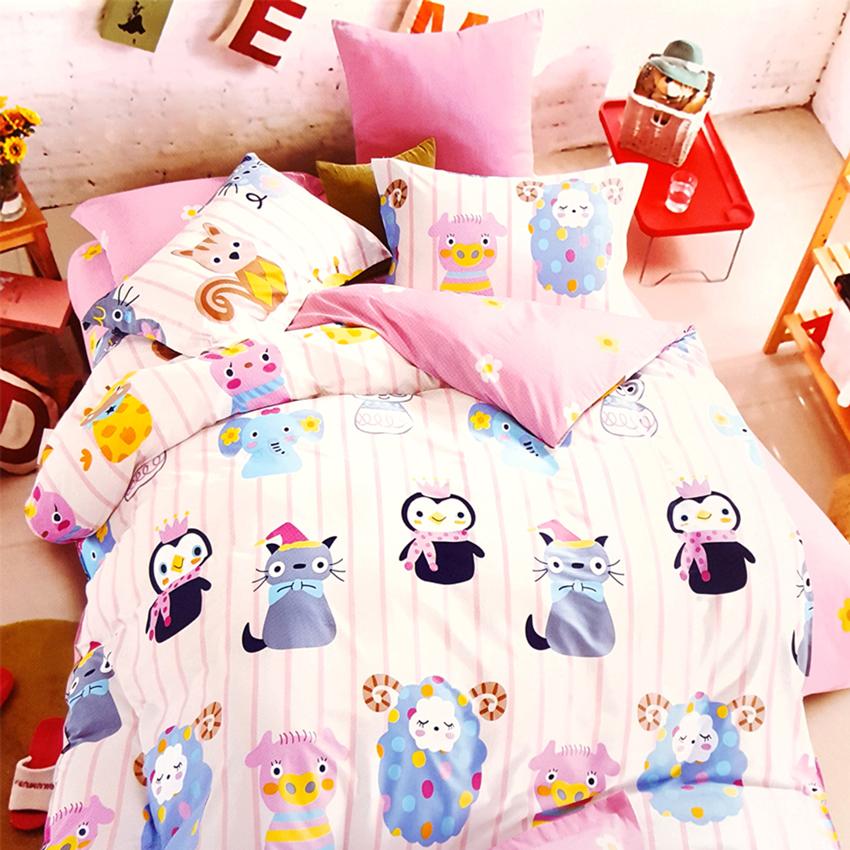 Bộ Ga Cotton Sợi Bông Hàn Quốc Julia 229BK18-1m8 x 2m